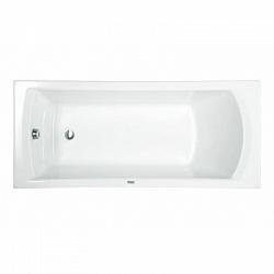 """Ванна акрил (Сантек) 1,5*0,7 м """"Монако"""" белая в комплекте (рама,сифон,крепеж к стене) <br>"""
