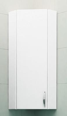 Шкаф навесной 30 см угловой левый  белый<br>