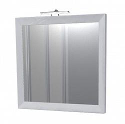 "Зеркало ""Торнадо"" 65см, белый, декор.светильник<br>"