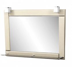 """Зеркало """"Гермес"""" 75 см, светильник декоративный 2шт, выбеленный дуб<br>"""