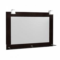 """Зеркало """"Гермес"""" 75 см, светильник декоративный 2шт,венге<br>"""
