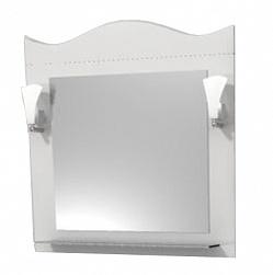 "Зеркало ""Венеция"" 65см, белый, декор.светильник<br>"