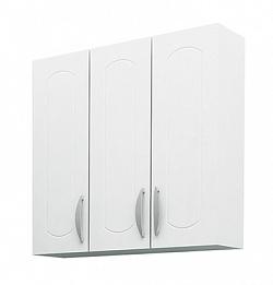 Шкаф навесной 60 см 3-х дверный белый<br>
