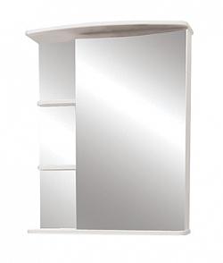 """Зеркало-шкаф """"Керса 02"""" 65 см зеркало справа белое<br>"""