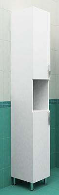 Колонка напольная 28 см с корзиной белая<br>