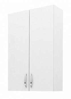 Шкаф навесной 44 см 2-х дверный белый<br>