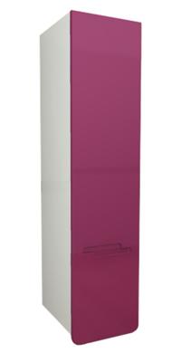 """Колонка подвесная """"Адажио"""" 30 см с 1-ним нижнем  ящиком, фиолетовый<br>"""