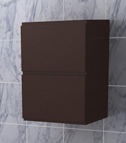 """Шкаф навесной """"Эвита"""" 34см, шоколад<br>"""
