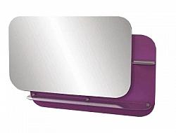 "Зеркало ""Адажио""  80 см  фиолетовое, светодиод.подсветка <br>"