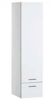 Шкаф-пенал Aquanet Верона 40 белый (подвесной)<br>