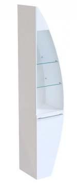 Шкаф-пенал De Aqua Эскалада RS0 L белый<br>