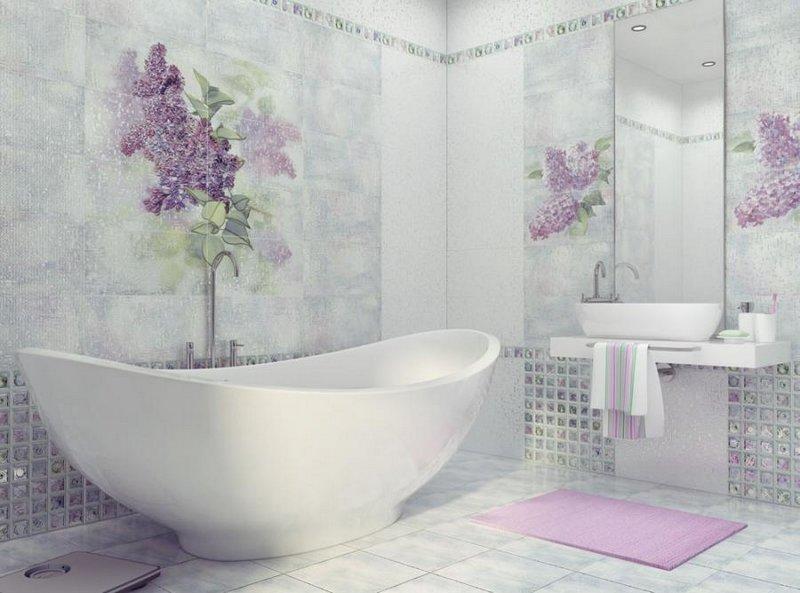Плитка для ванной Сирио<br>